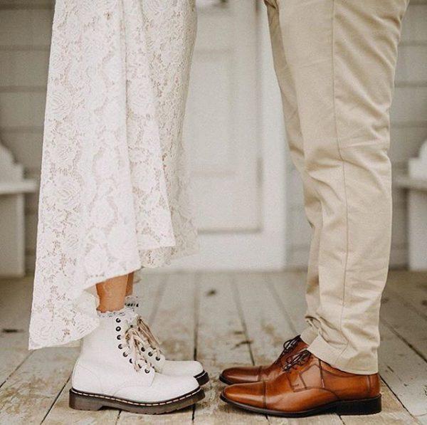 Sposa con Dr. Martens