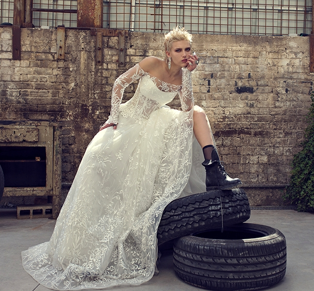Scarpe da sposa alternative