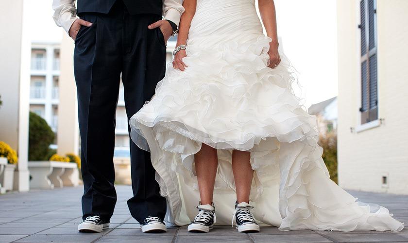 Sposi con le Converse