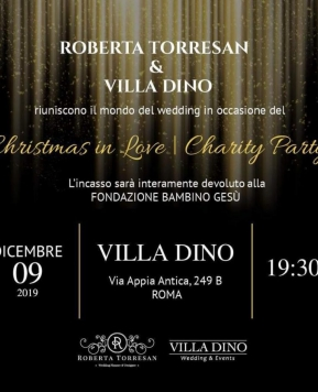 Christmas in Love, il Charity Party di Roberta Torresan