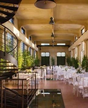 Matteo Catalfamo, la location industriale è romantica