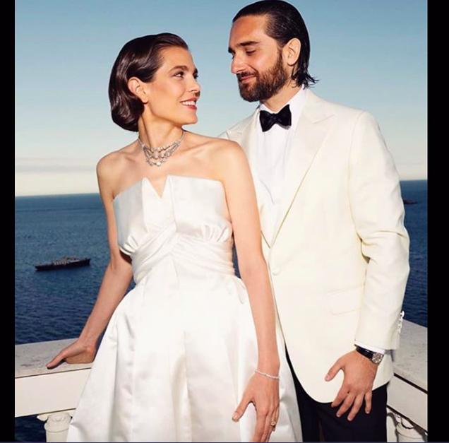 Charlotte Casiraghi matrimonio