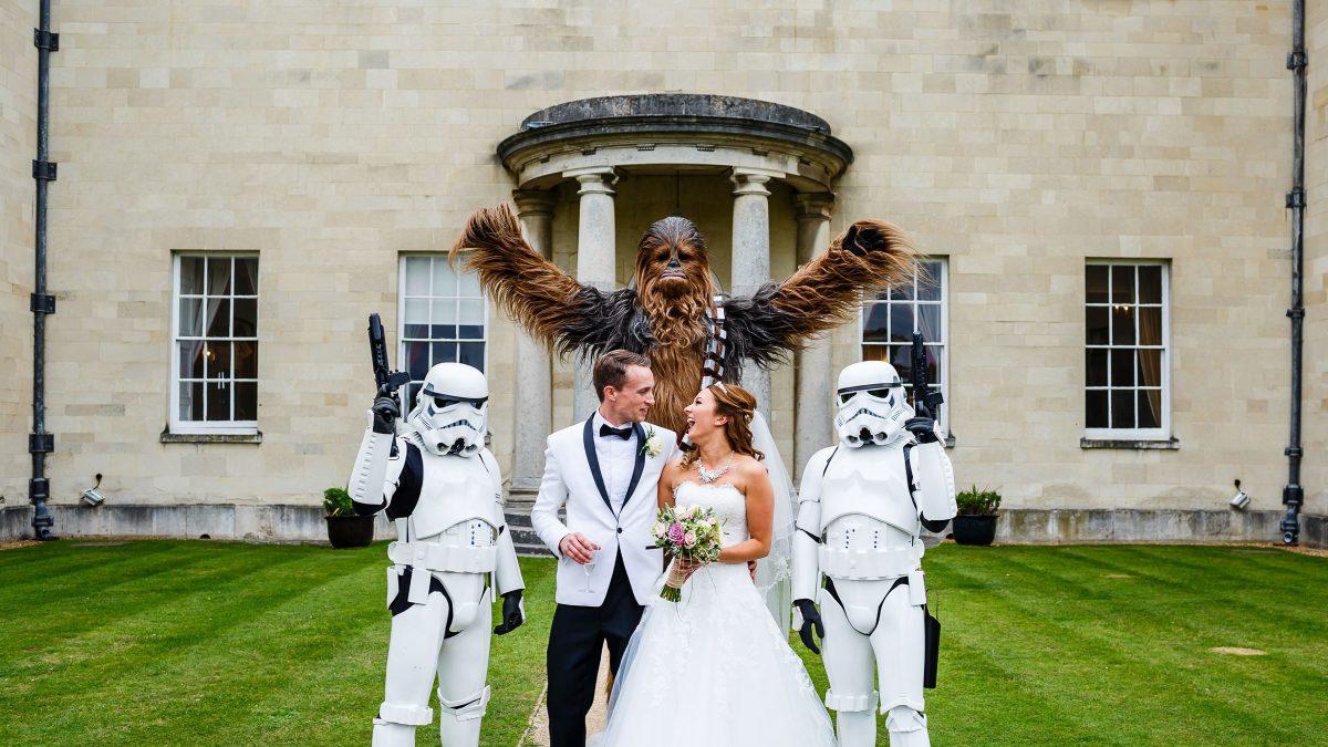 Matrimonio a tema Guerre Stellari