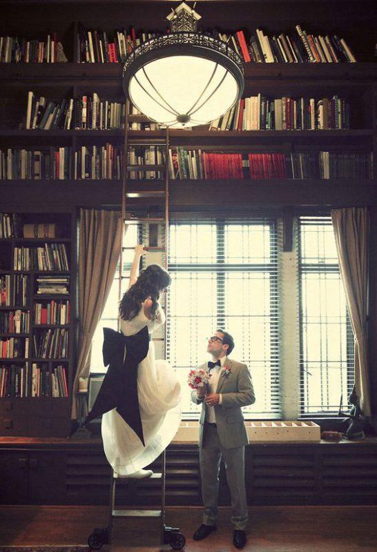 matrimonio a tema libri