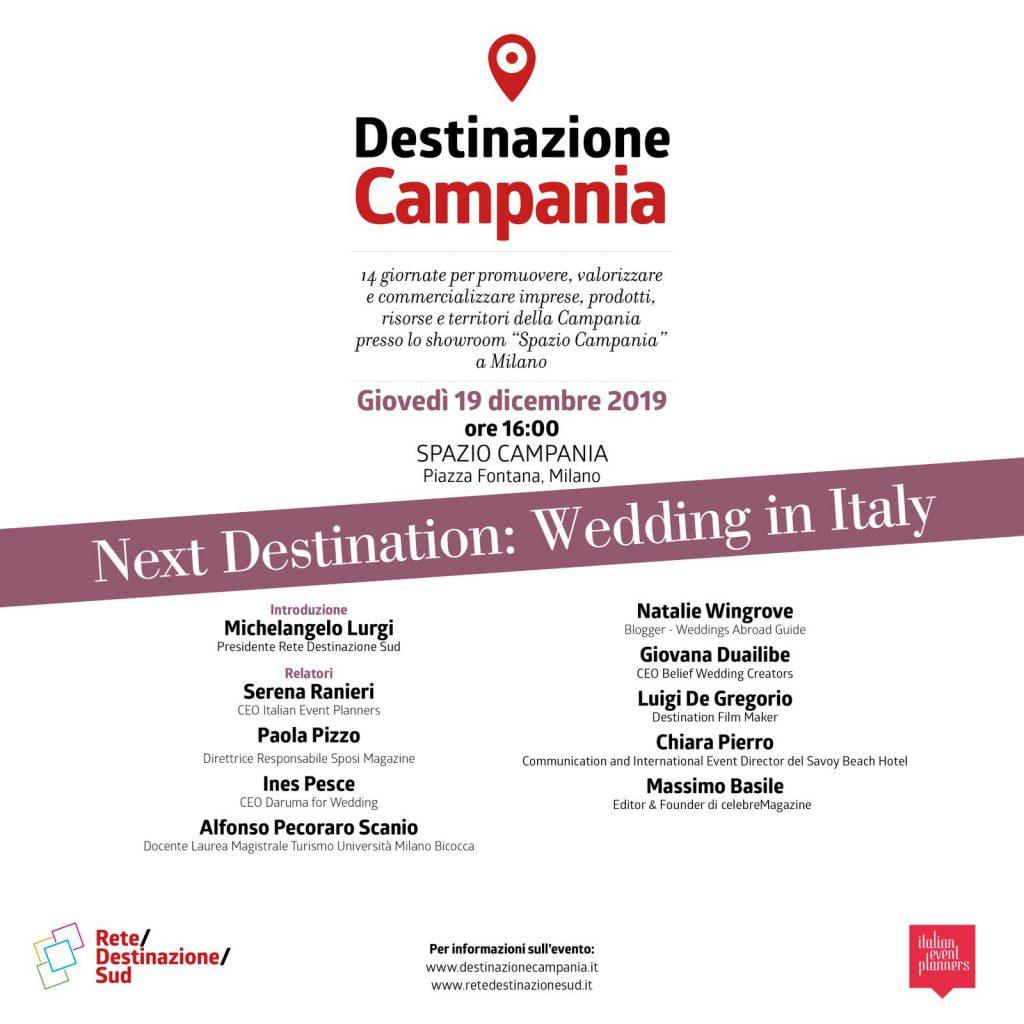 Next Destination: Wedding in Italy