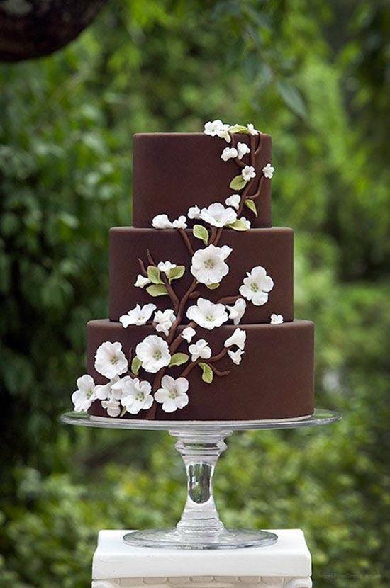 Torta matrimonio al cioccolato