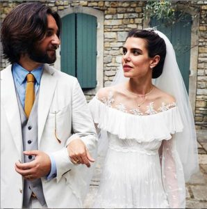 matrimonio charlotte casiraghi