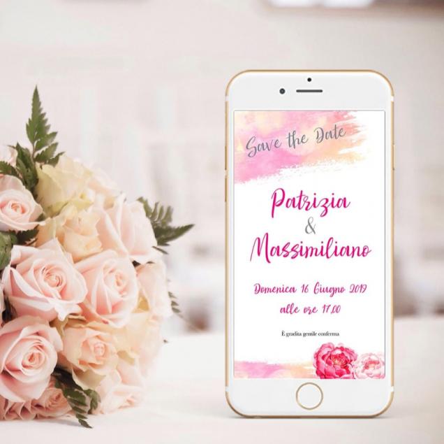 partecipazioni matrimonio online
