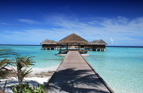 Resort Beach Maldive