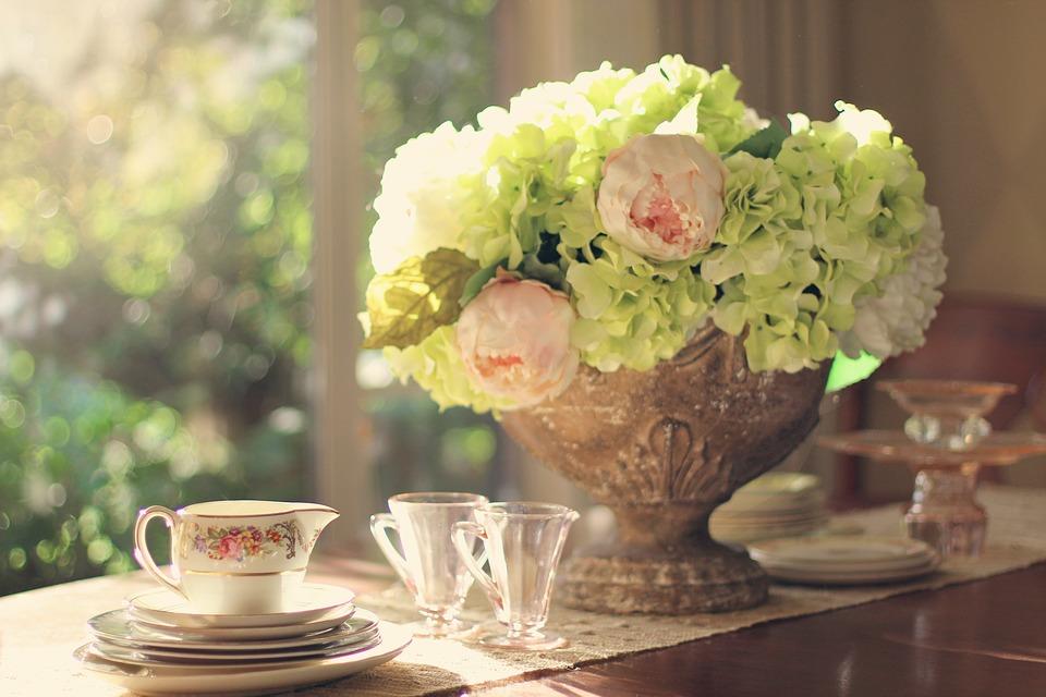 Allestimenti floreali tavolo sposi