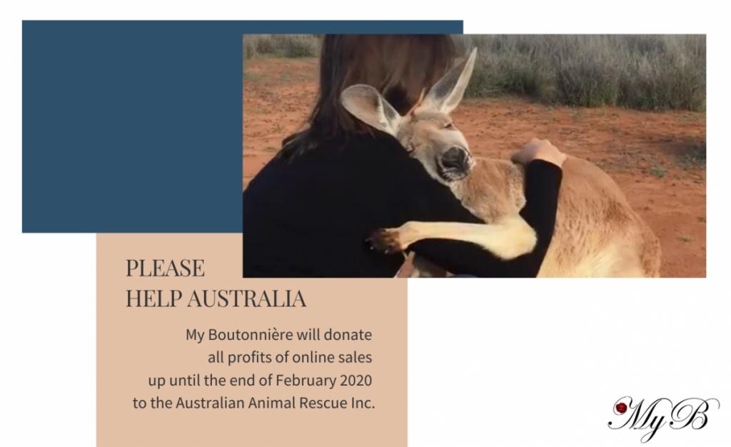 My Boutonnière per l'Australia