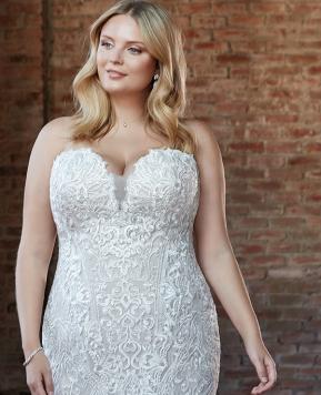 Abiti da sposa curvy: quali sono i modelli e come scegliere quello giusto!