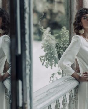 Abiti da sposa Laure de Sagazan 2020, romanticismo e sensualità di ispirazione francese