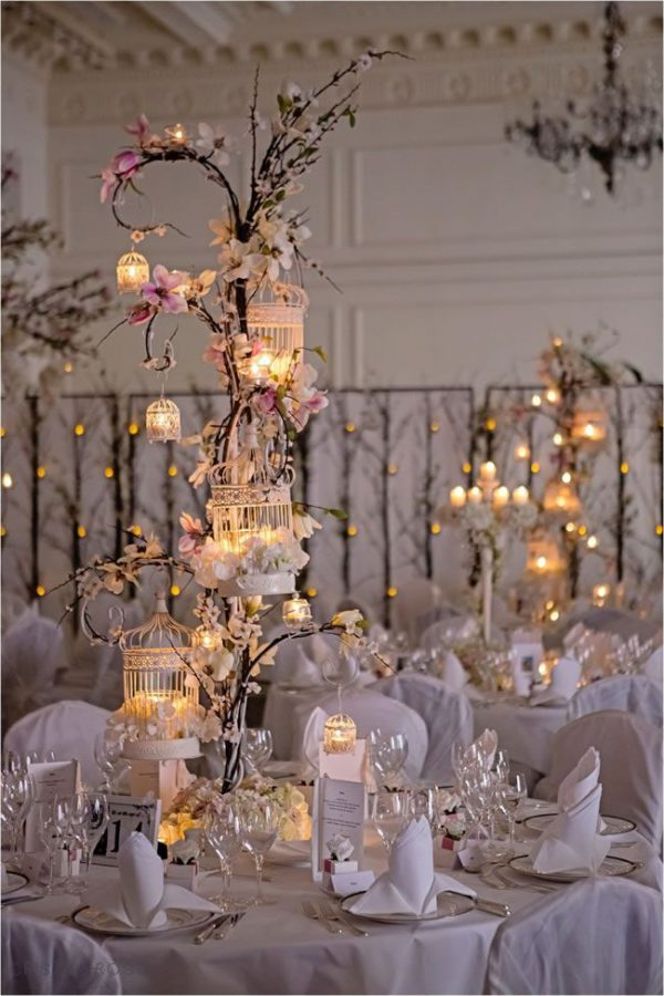 Albero con lanterne matrimonio