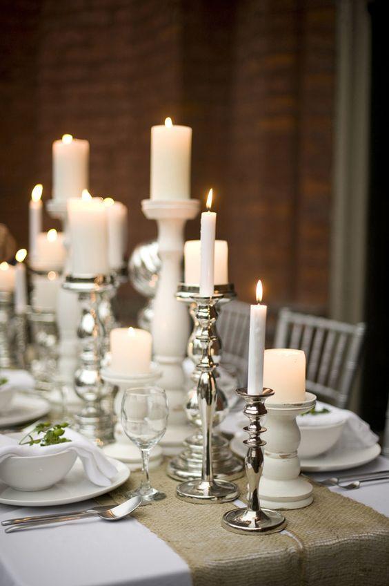 Candelabri per tavolo sposi
