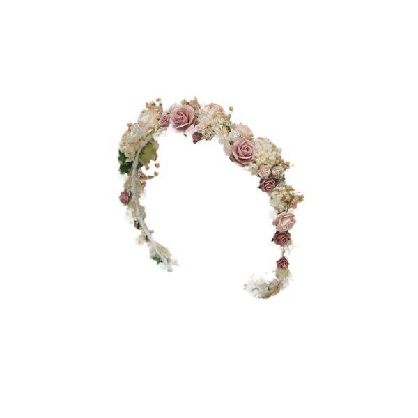 Diadema fiori Pronovias