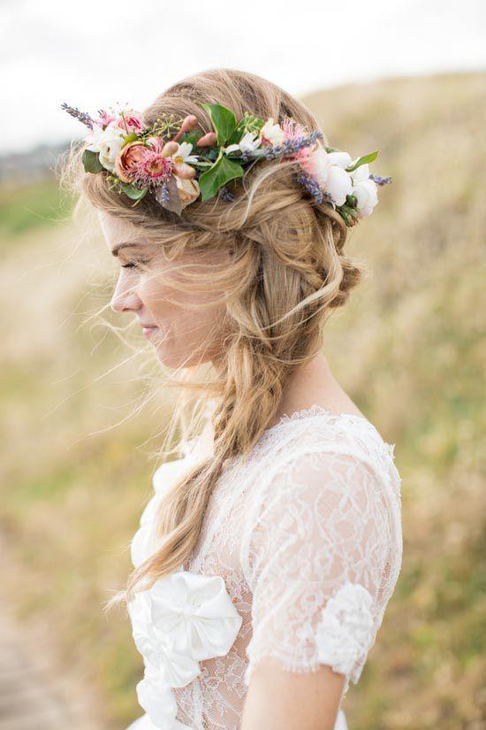 Corona fiori sposa