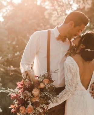 Il bouquet della sposa: 10 idee (e 45 foto) per ogni stagione