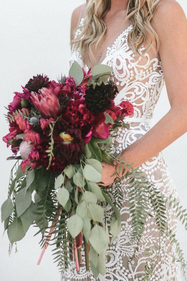 Bouquet autunnale cascata