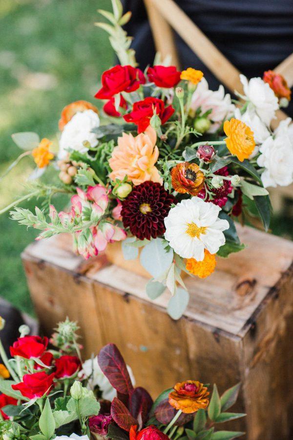 Bouquet autunno acceso