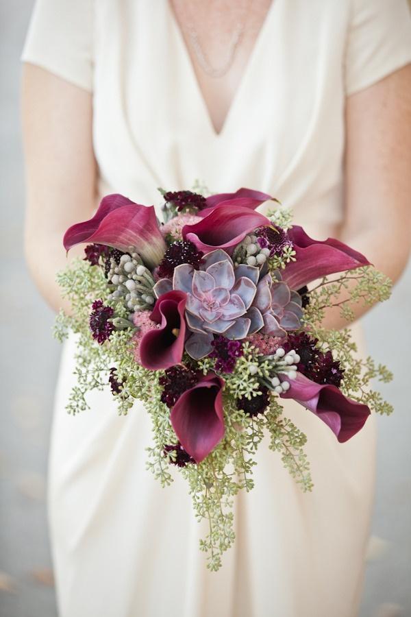 Bouquet invernale calle