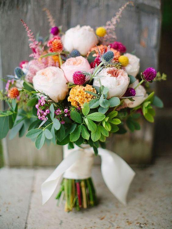 Bouquet peonie estivo