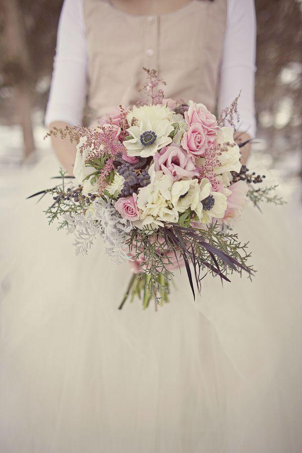 Bouquet romantico invernale