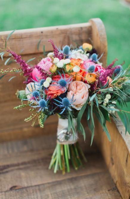 Bouquet rustico estivo