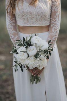 Bouquet sposa bianco