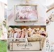 Decorazioni per matrimonio: 300 foto e idee super cool per rendere le tue nozze uniche!