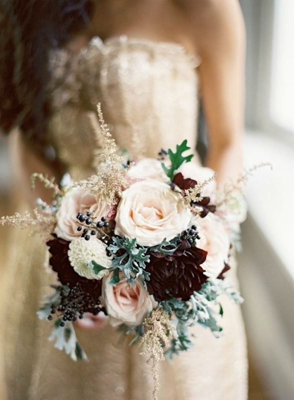 Fiori bouquet invernale