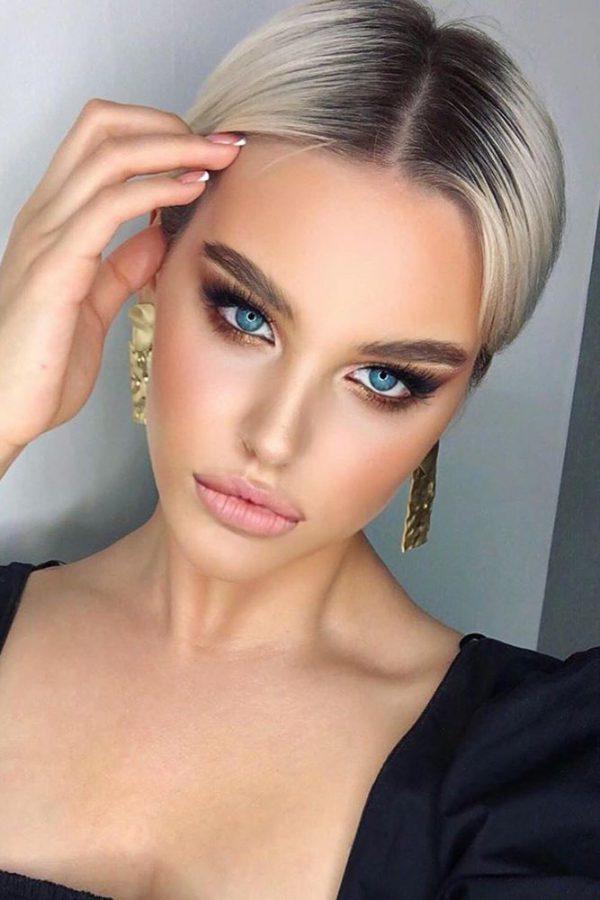 Makeup occhi chiari