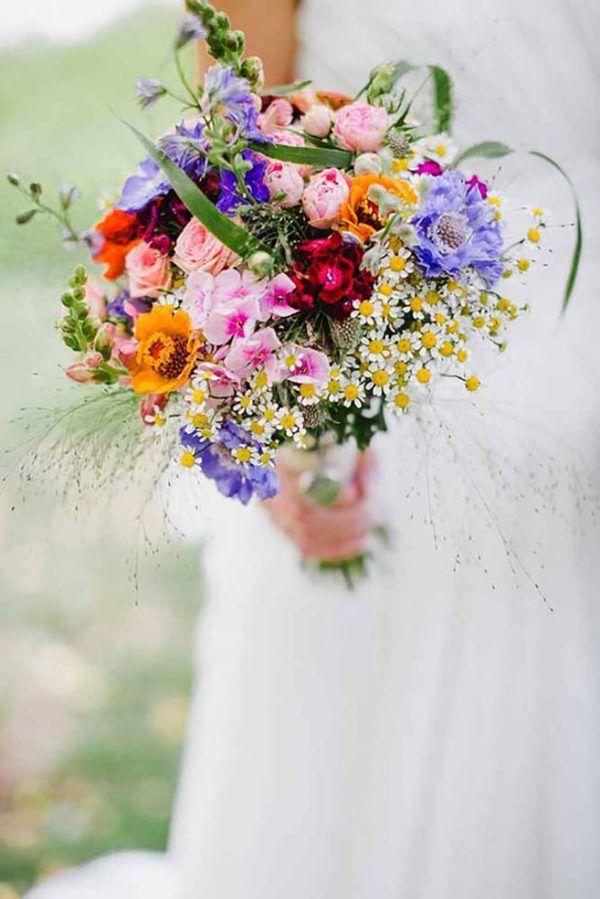 Mazzo sposa primavera
