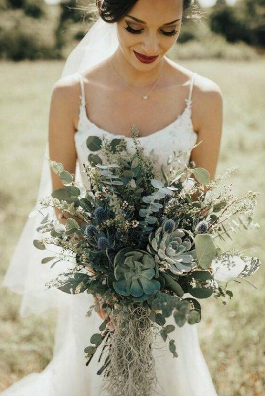 Fiori matrimonio piante grasse
