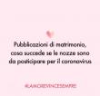 Pubblicazioni matrimonio: cosa succede se le nozze sono da posticipare per il Coronavirus
