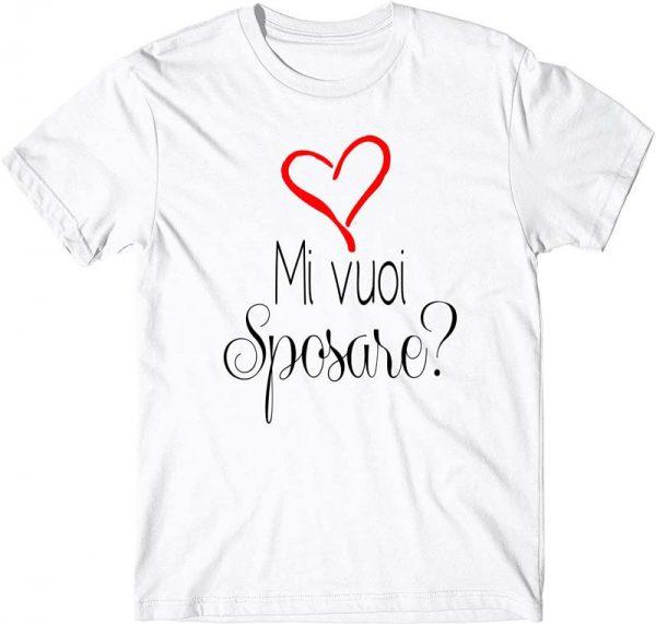 immagine di una t-shirt con proposta di matrimonio