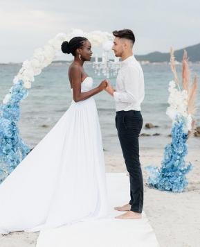 Krisztina Tòth, il sogno del matrimonio invernale in Sardegna