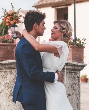 Nicoletta del Gaudio, nozze chic tra Toscana e Sardegna