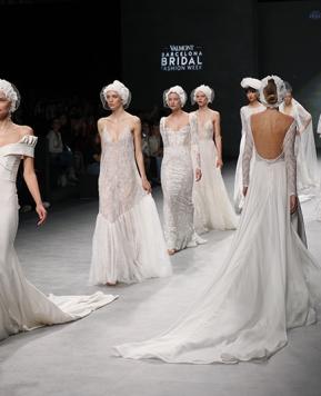 Valmont Barcelona Bridal Fashion Week 2020 tra arte, moda e tecnologia