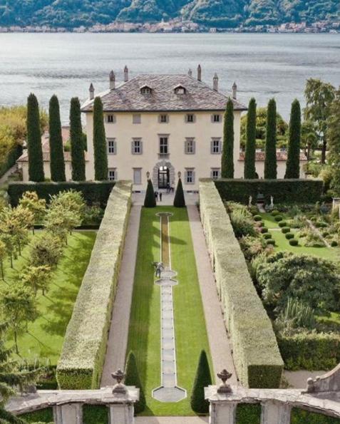 Villa Balbiano, sul lago di Como, ha fatto da location al matrimonio tra Elettra Lamborghini e Afrojack