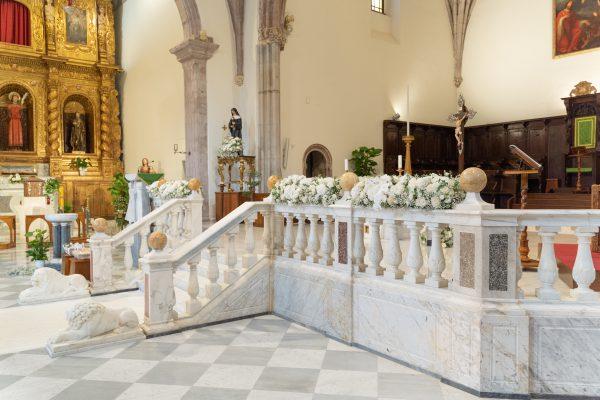 Chiesa allestimenti Francesca Pittau