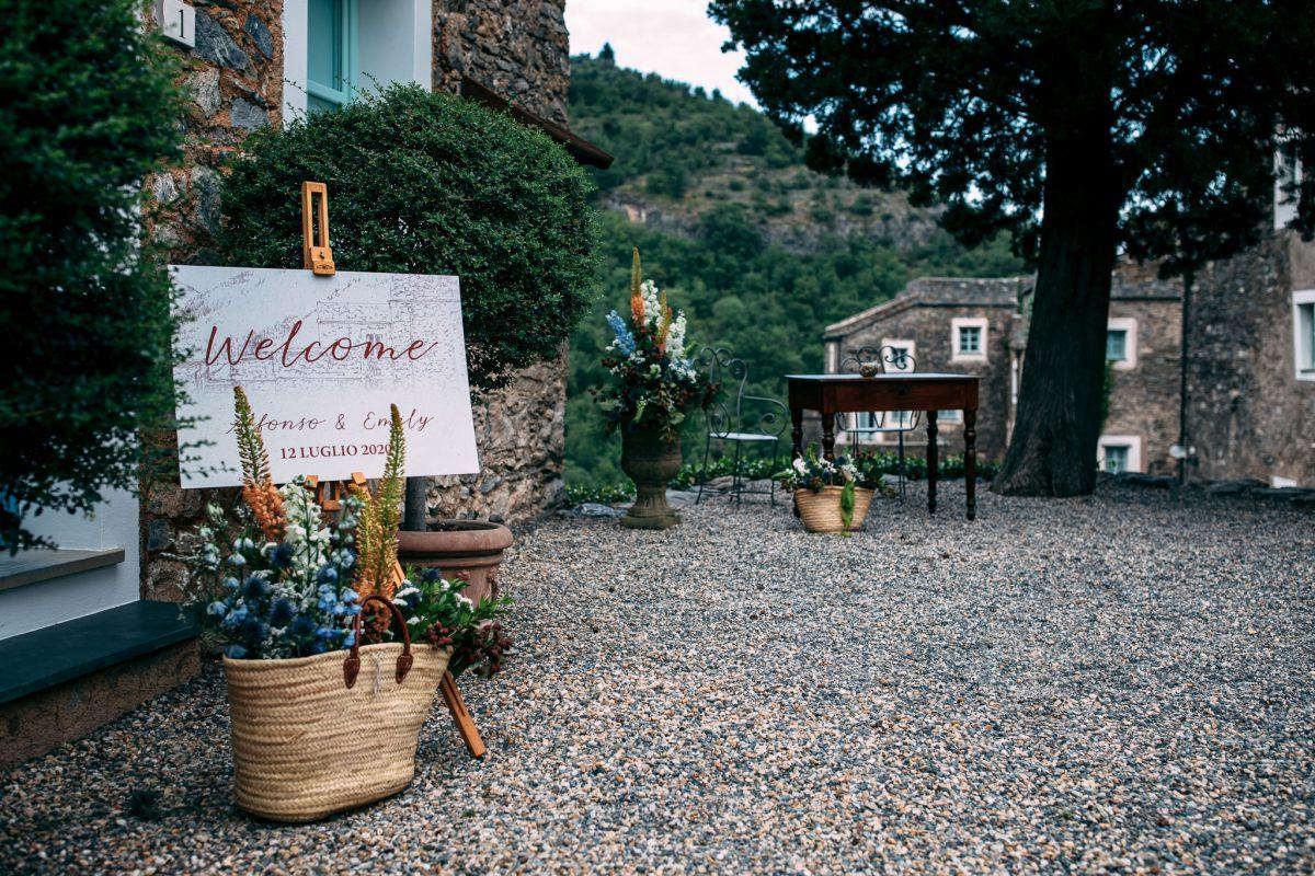 Colletta di Castelbianco Wedding