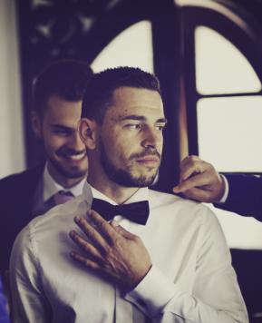 """Abiti da sposo Palermo, mood """"su misura"""" per Michele Inzerillo for gentleman"""
