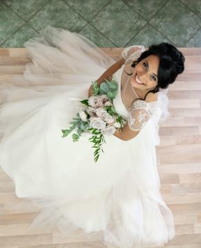 Le spose di Couture Hayez come principesse, l'ultima prova dell'abito è una sorpresa