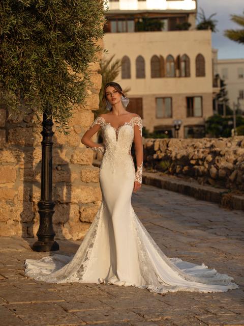 Vestito da sposa sirena Capri 2021