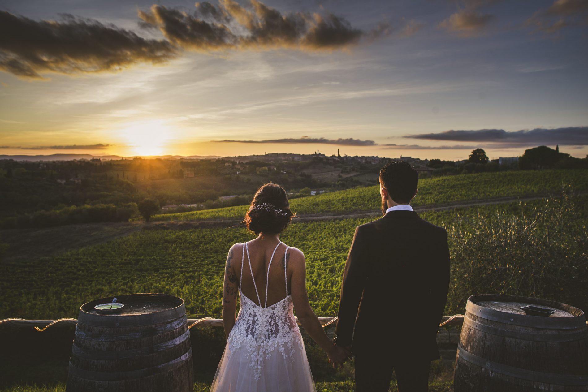 Wedding in Castel Di Pugna, Siena Tuscany