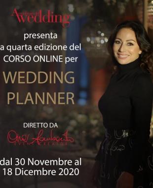 Corso Wedding Planner On line Cira Lombardo, la formazione non si ferma