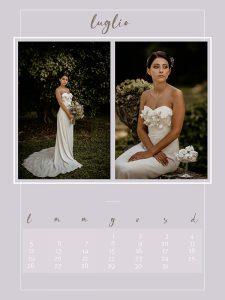 Calendario 2021 Alessandra Giuffra