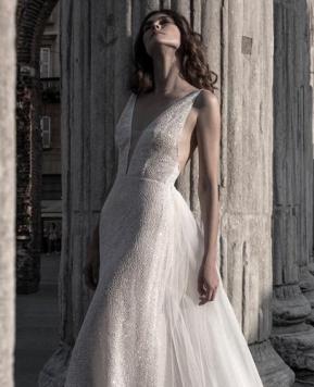 Atelier Le Fate Milano, tocchi Gold per la sposa 2021