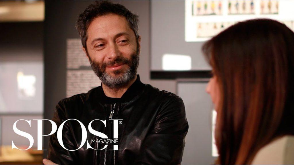 In questa foto Francesco Pignatelli, direttore creativo di Carlo Pignatelli